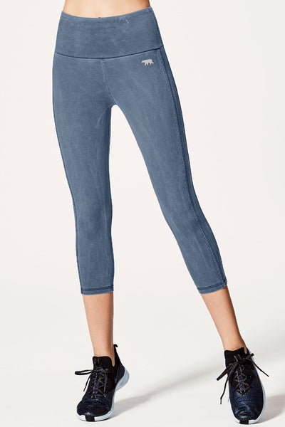 Wild West 7/8 Tight - Double Denim