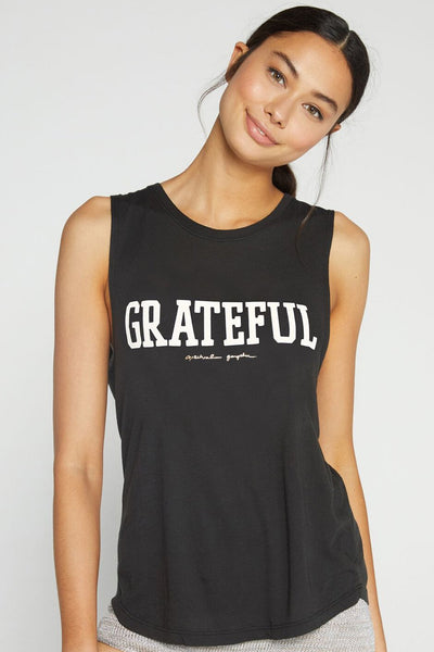 Grateful Muscle Tank - Black