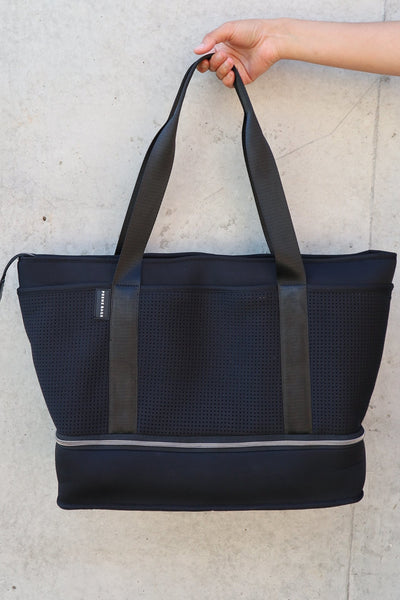 The Sunday Neoprene Bag - Black