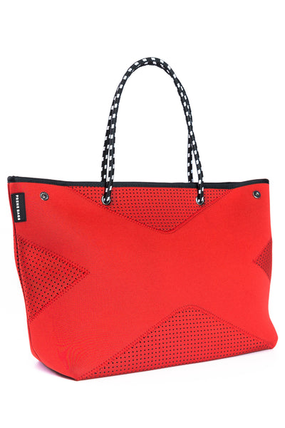 The X Bag Neoprene Tote - Red