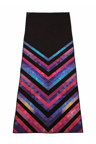 Hot Yoga Towel - Chevron Maya