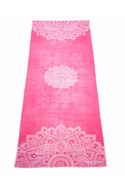 Hot Yoga Towel - Mandala Rose