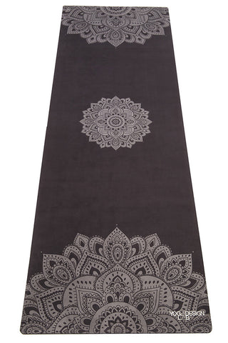 Travel Mat – Mandala Black