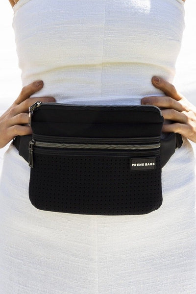 The Neoprene Bum Bag - Black