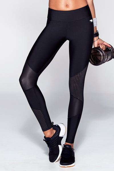HR TE (Trend Edit) Full Length Tight - Black