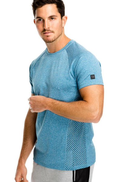 Trophy T-Shirt - Teal Marle