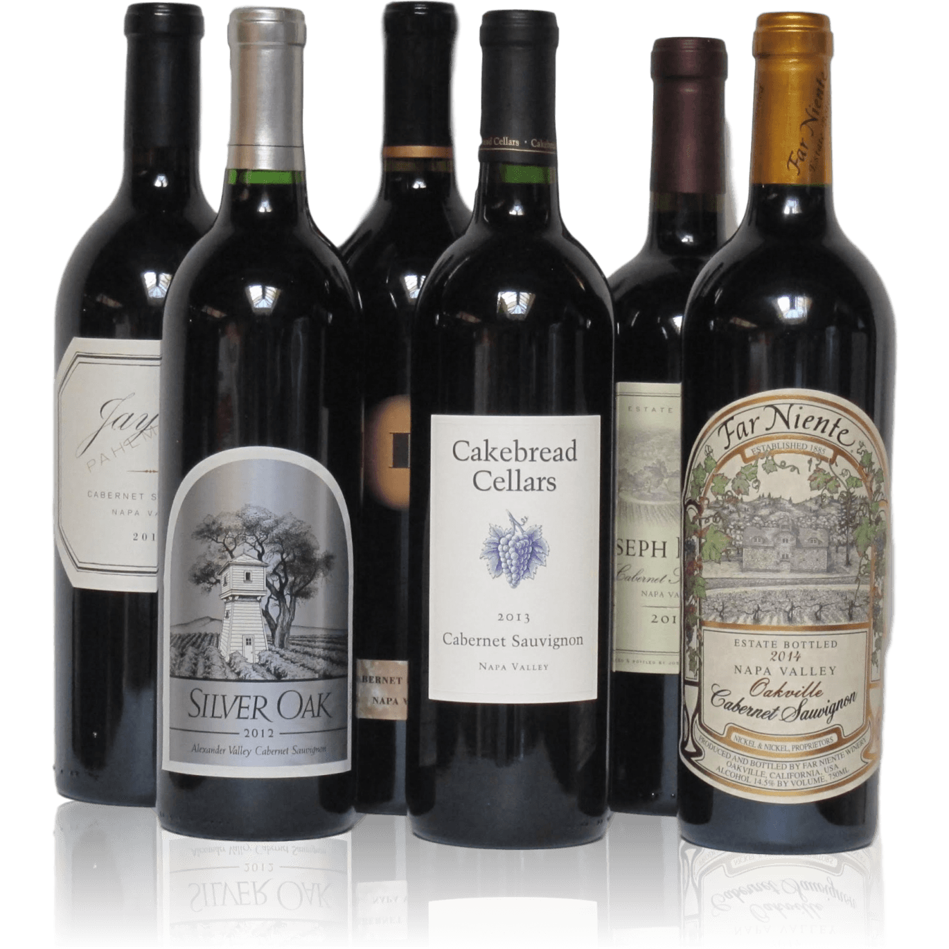 Collector Napa Cabernets 6 Pack Brix26 Wines
