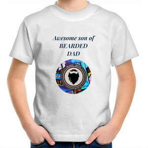 BeardMate Sportage Surf - Kids Youth T-Shirt - Beard Mate