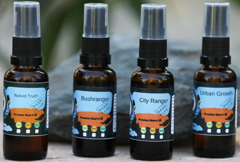 4 Pack of 30ml Beard Oils | Beard Oils | BeardMate - Beard Mate