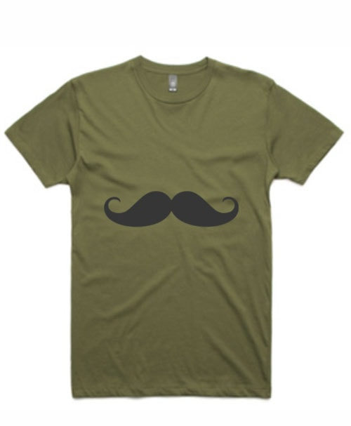 Movember Moustache TShirt - Beard Mate