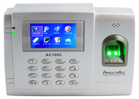 Fingerprint Time & Attendance Clocking machine - Fingertec AC100C