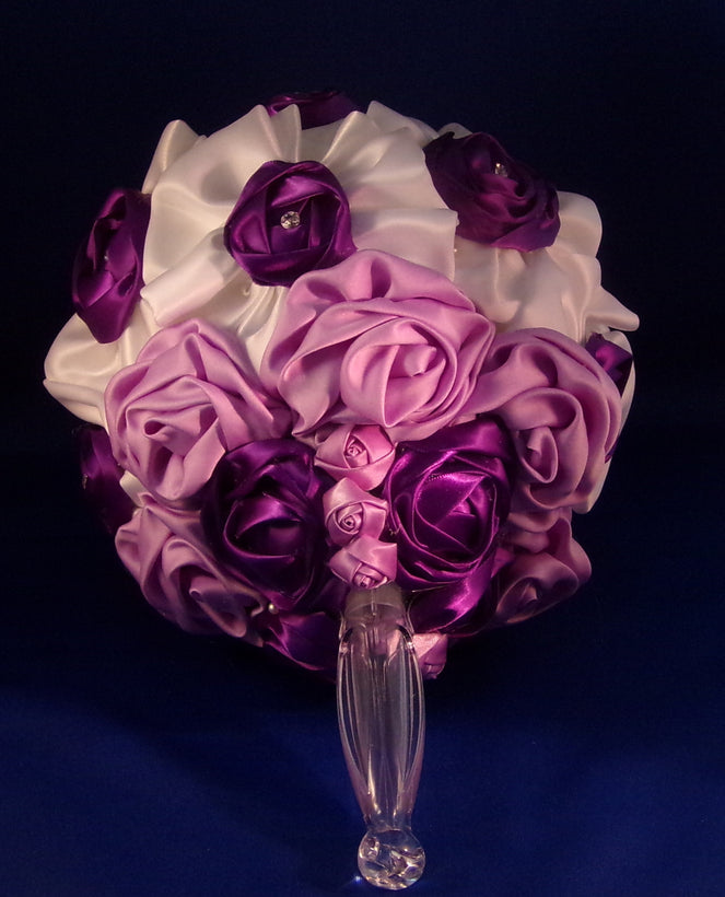 Brides Bouquets-Satin