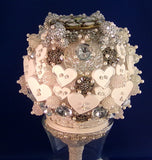 Bouquet-Crystal Baubles and Buttons