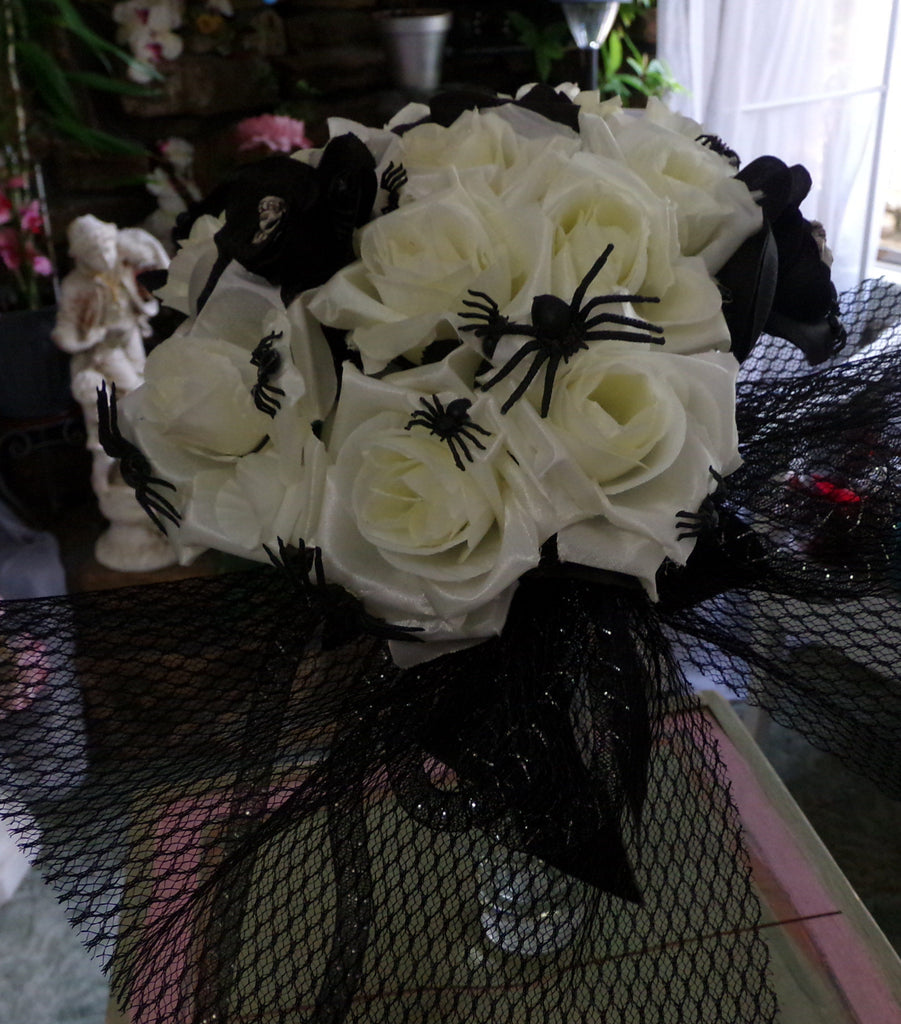Bouquet - October Macabre - Black & White