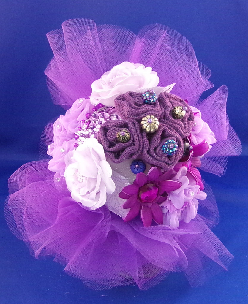 Flowergirl-Purple Passion Coquette Bouquet