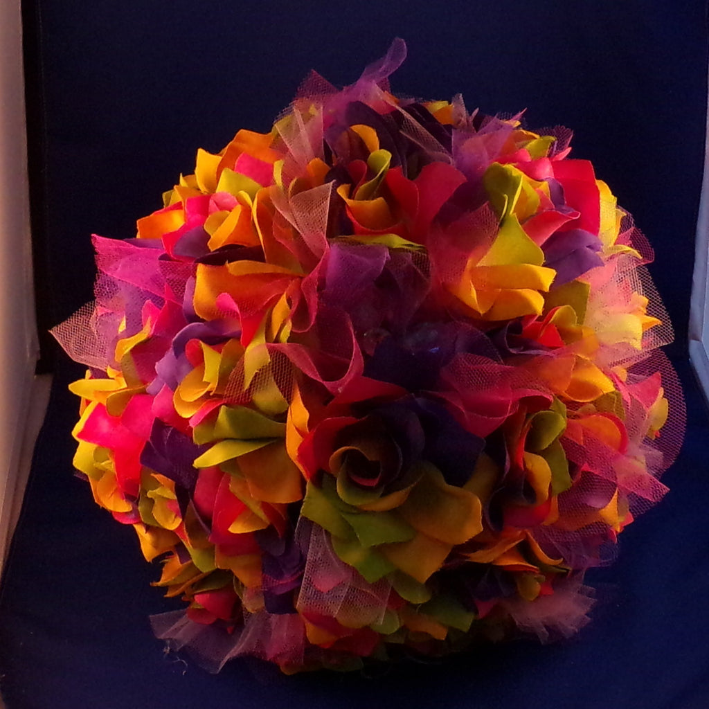 Bouquet-Rainbow Rose