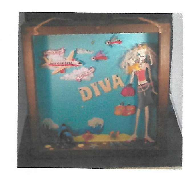 Shadowbox - Travel Diva