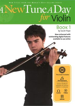 A NEW TUNE A DAY: VIOLIN - BOOK 1: VIOLIN