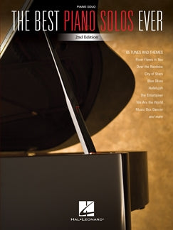 THE BEST PIANO SOLOS EVER - 2ND EDITION:
