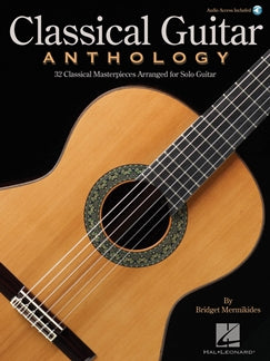 BRIDGET MERMIKIDES: CLASSICAL GUITAR ANTHOLOGY