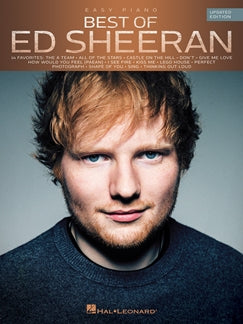 BEST OF ED SHEERAN (UPDATED EDITION): PIANO