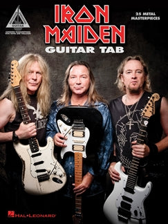 IRON MAIDEN: GUITAR TAB - 25 METAL MASTERPIECES
