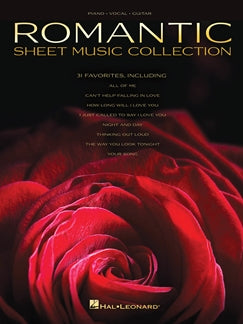 ROMANTIC SHEET MUSIC COLLECTION: PIANO, VOCAL, GUITAR