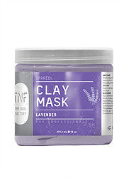 TNF PEDI CLAY MASK LAVENDER & WILD FLOWERS 16OZ