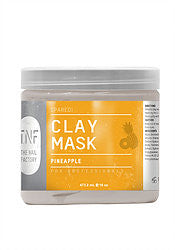 TNF PEDI CLAY MASK PINEAPPLE 16OZ