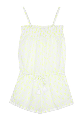 Edith Playsuit with Pompom Trim (Ages 3-12)