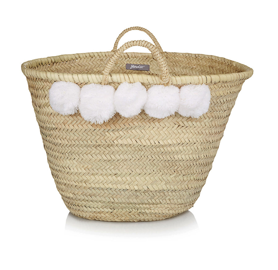 Moroccan Beach Basket (Large)