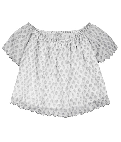 Bea Cropped Lined Top (Ages 3-10)