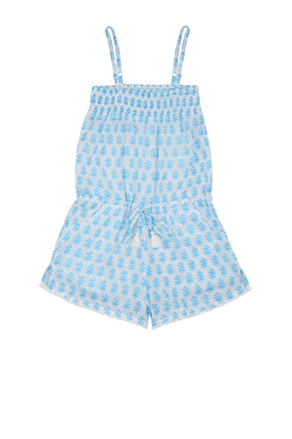 Edith Playsuit with Pompom Trim<br>(Ages 5-6)
