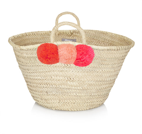 Moroccan Beach Basket (Small)
