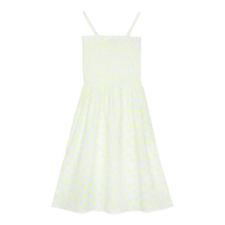 Chloe Cactus Print Smocked Dress