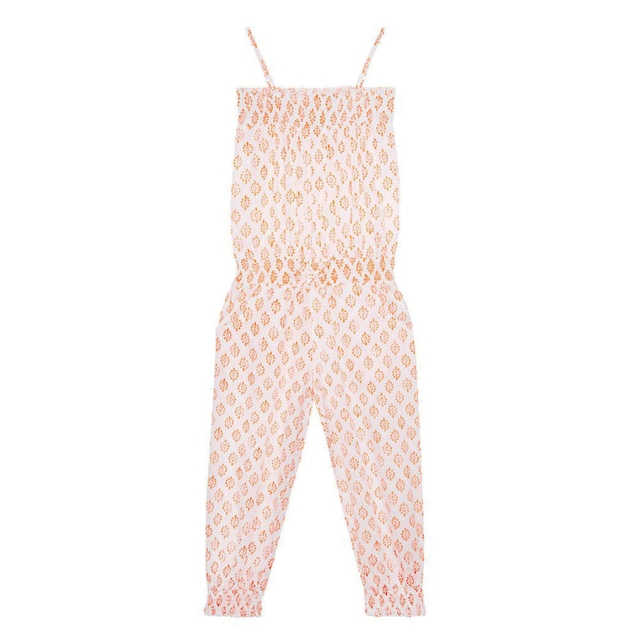 mymia Childrenswear Lily Jumpsuit in Neon Orange