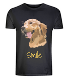 Mens Golden Retriever T-Shirt Black Size XS S M L XL 2XL 3XL 4XL 5XL