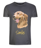 Mens Golden Retriever T-Shirt Grey Size XS S M L XL 2XL 3XL 4XL 5XL