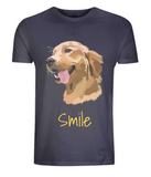 Mens Golden Retriever T-Shirt Navy Size XS S M L XL 2XL 3XL 4XL 5XL