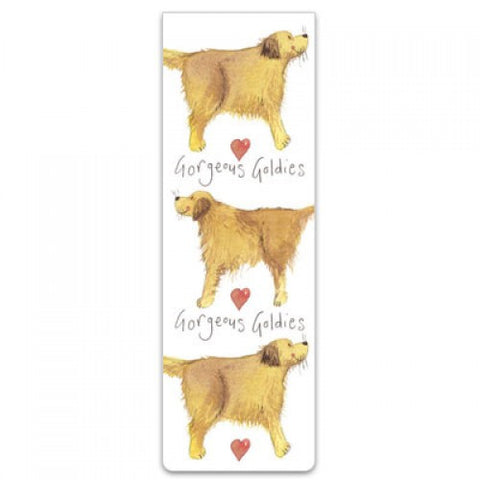 Golden Retriever Bookmark Alex Clark