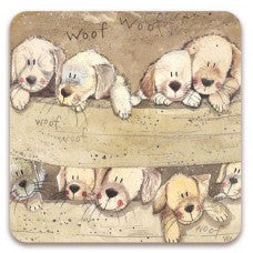 "Fridge Magnet ""Puppies"""