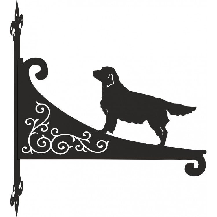 Golden Retriever Decorative Hanging Basket Bracket