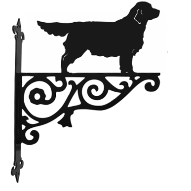 Golden Retriever Hanging Basket Bracket