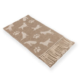 Luxury Wool with Cashmere Scarf - Taupe