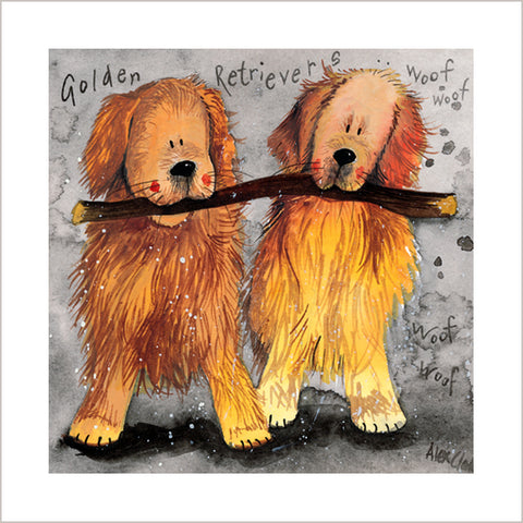 "Print ""Golden Retrievers"""