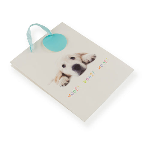 Golden Retriever Puppy Gift Bag Medium