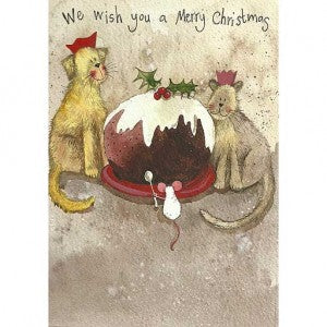 Christmas Card Pack  Christmas Pudding