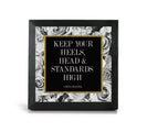 Coco Chanel - 2-Piece Office Print and Frame Set
