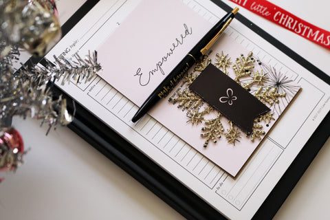 Daily Planning Notebook Gift Set