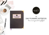 Work With Intention - Daily Planning Notebook (PDF version)